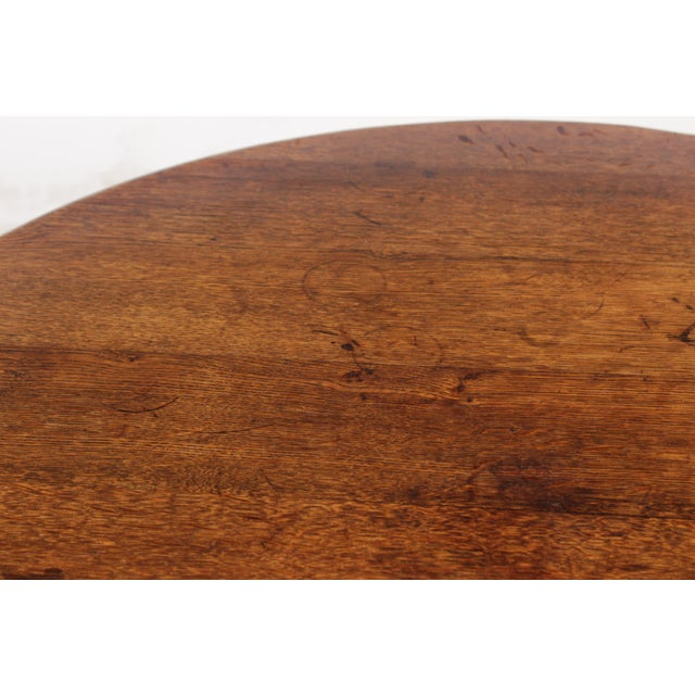 1950s Bavarian-Style Round Coffee Table - Image 9 of 9