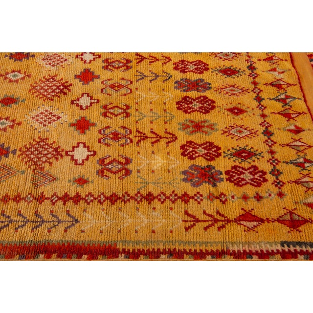 """Antique Moroccan Rug, 3'10"""" X 6'2"""" For Sale In New York - Image 6 of 10"""