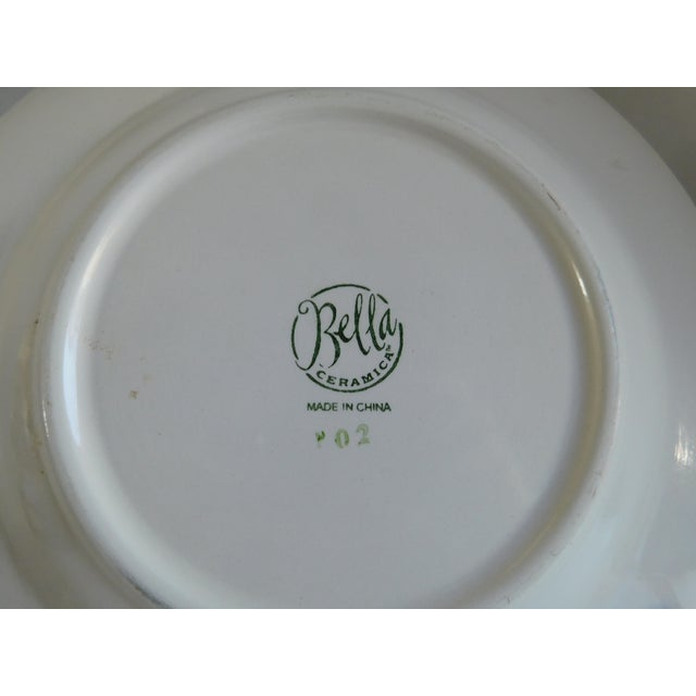 Service for 8 - Bella Ceramica Tuscan Pottery Dinnerware For Sale - Image 4 of 13