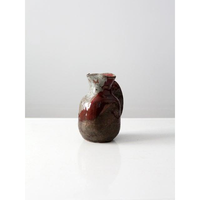 Mid-Century Studio Pottery Pitcher - Image 4 of 7