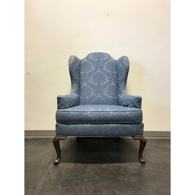 Drexel Classics Queen Anne Wingback Wing Chair - Image 4 of 10