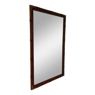 Henredon Pan-Asian Collection Bamboo Mirror