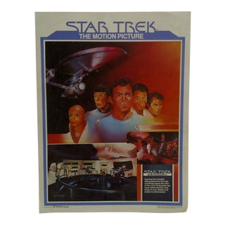 "1979 ""Star Trek"" The Motion Picture Movie Poster For Sale"