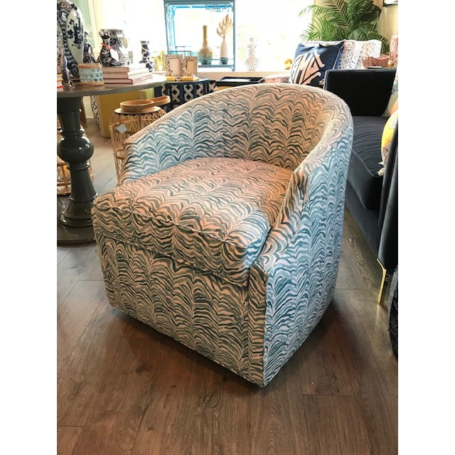 2010s Stevie Swivel Chair For Sale - Image 5 of 5