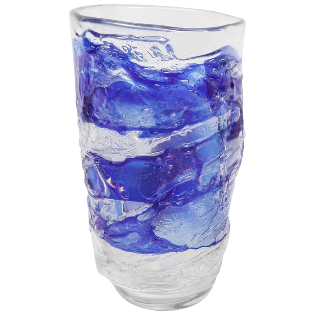Murano Glass Vase For Sale - Image 11 of 11