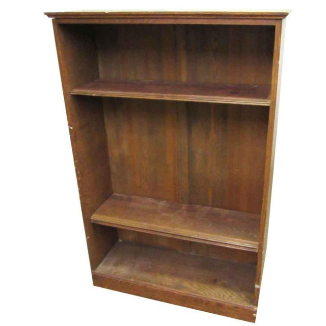Traditional Vintage Wall Bookcase For Sale - Image 3 of 4