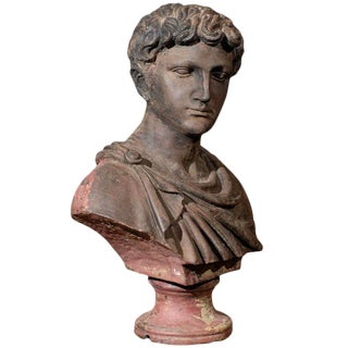 Early 19th Century Roman Bust Sculpture