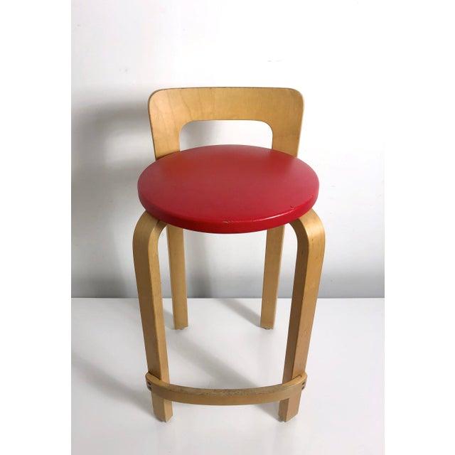 Bentwood Alvar Aalto by Artek K65 Highback Chair Finland 1940's For Sale - Image 7 of 11
