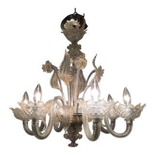 Vintage used murano chandeliers chairish murano glass daffodil chandelier aloadofball Images