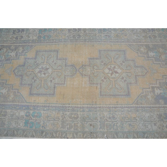 Turkish Oushak Handwoven Rug - 4′3″ × 8′2″ For Sale - Image 5 of 6