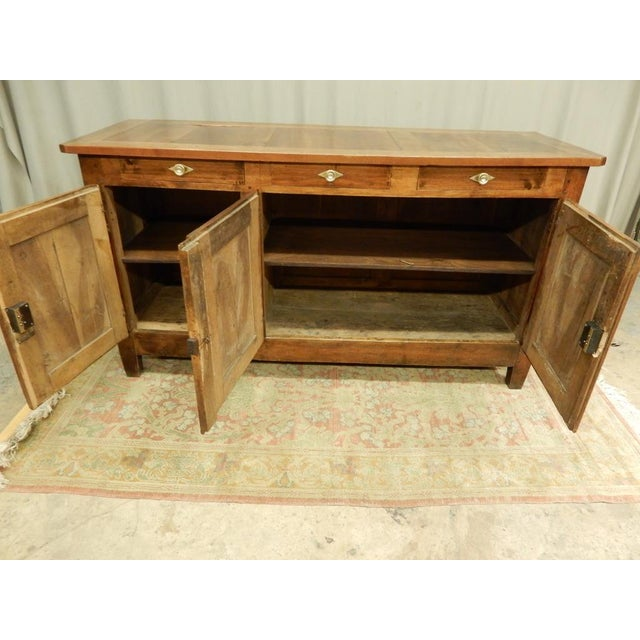 Early 19th Century Early 19th French Walnut Enfilade For Sale - Image 5 of 11