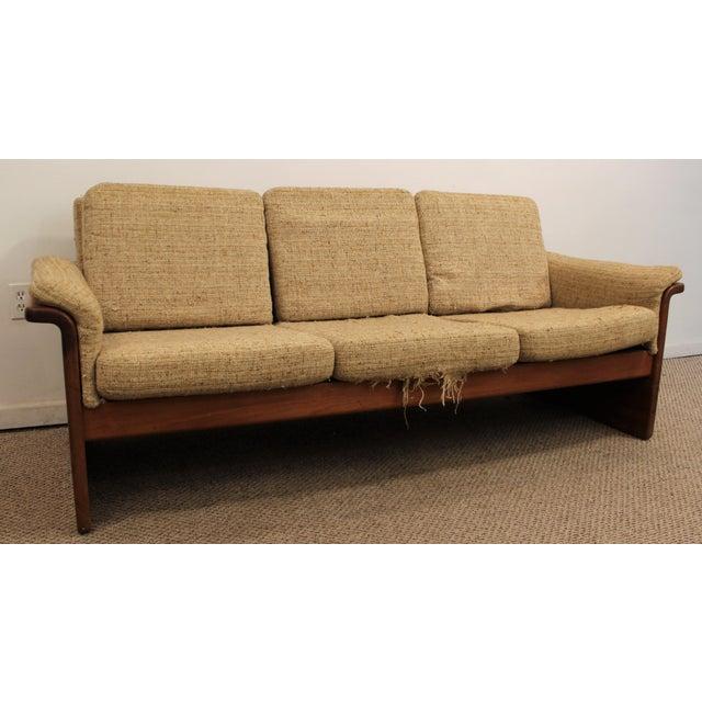 Mid-Century Danish Modern Teak Sofa by Mobler - Image 2 of 10