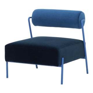 Marni Occasional Chair In Dusk For Sale