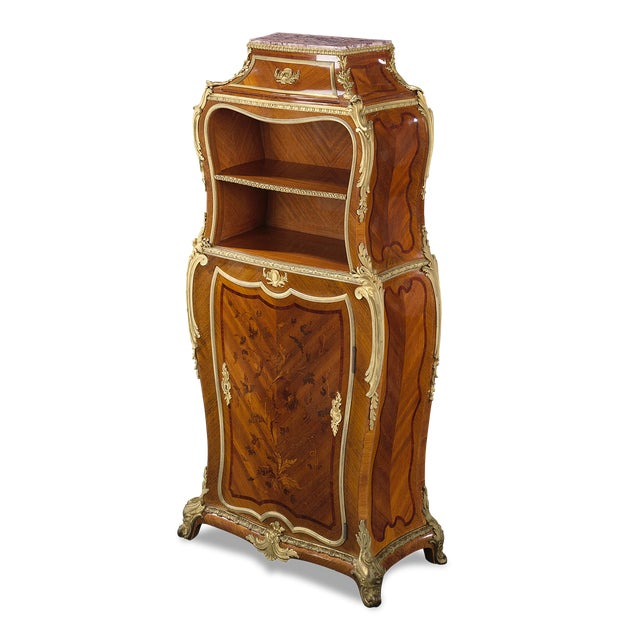 Louis XV 19th-Century French Secrétaire by Durand For Sale - Image 3 of 5