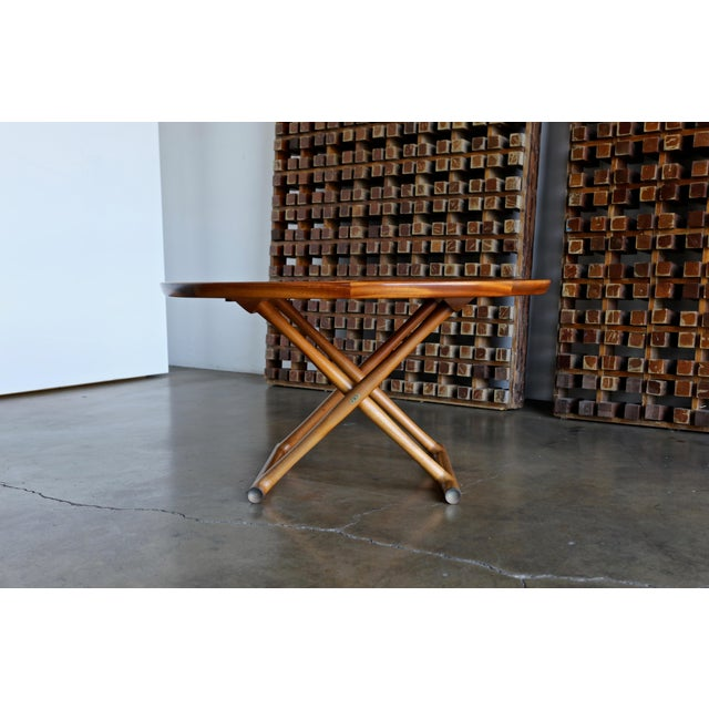 Large Egyptian Table by Mogens Lassen for A.J. Iversen circa 1955.