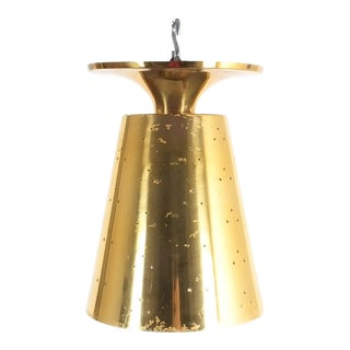 Gold Plated Flush Mount, 1950 For Sale