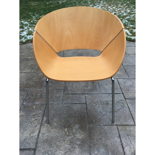 Contemporary Wolfgang C.R. Mezger Lipse Chairs - Set of 4 For Sale - Image 3 of 11