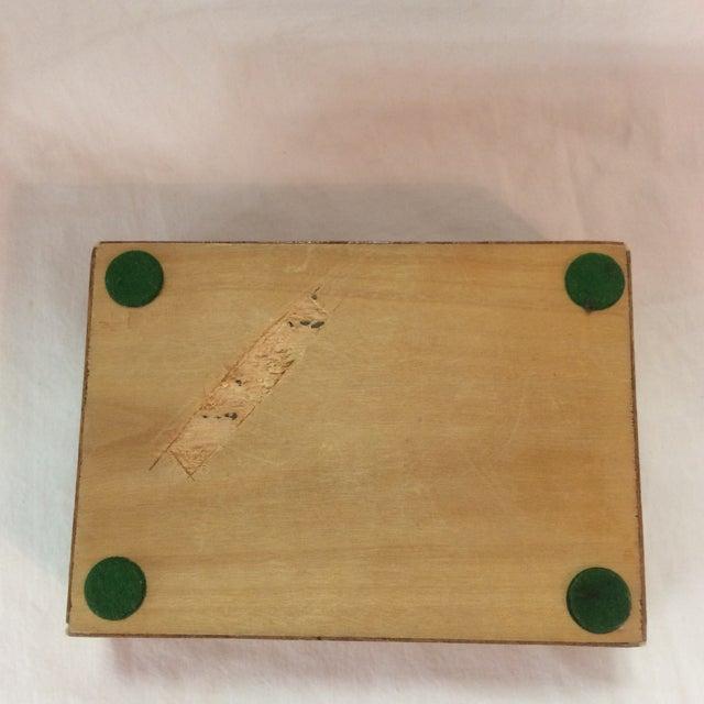Persian Wood Inlay Box - Image 6 of 10