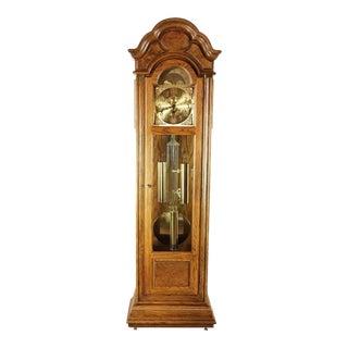 Ridgeway Oak Grandfather Clock For Sale