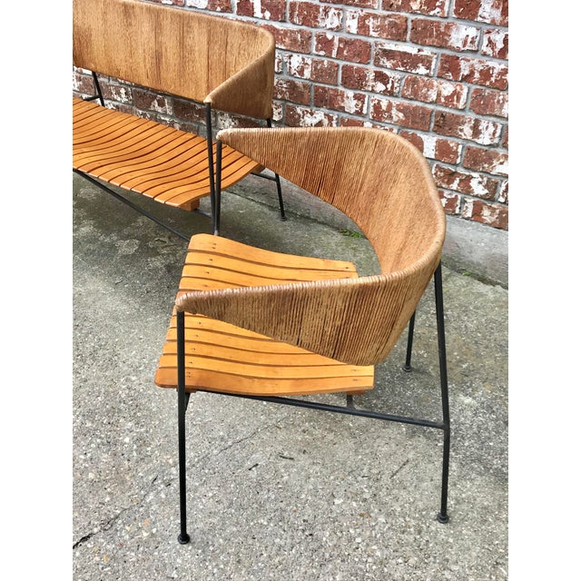 Brown Mid-Century Modern Arthur Umanoff for Shaver, Howard & Raymor Seating Set- 4 Pieces For Sale - Image 8 of 13