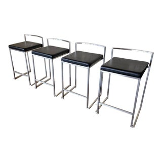 Room and Board Cobin Counter Stools - Set of 4 For Sale
