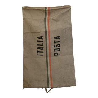 Vintage Italian Post Office Mail Bag For Sale