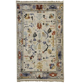 Image of Gold Traditional Handmade Rugs