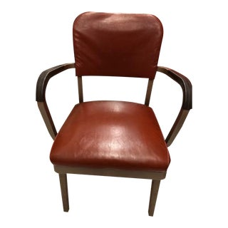 1960s All-Steel Arm Chair For Sale