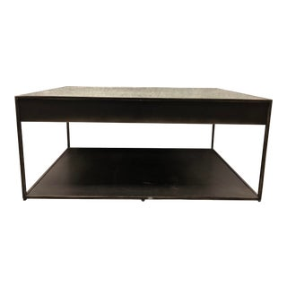 Restoration Hardware Gramercy Narrow Coffee Table With Drawers