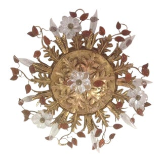 Banci Firenze Italian Florentine Flush Ceiling Light