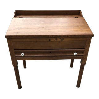Antique Early 19th Century School Masters Desk