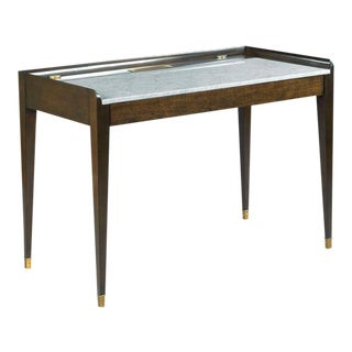 Modern Woodbridge Furniture Marmo Writing Table For Sale