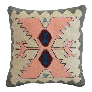 Hand Woven Silk - Viscose Pillow Cover Sham - 15″ X 15″