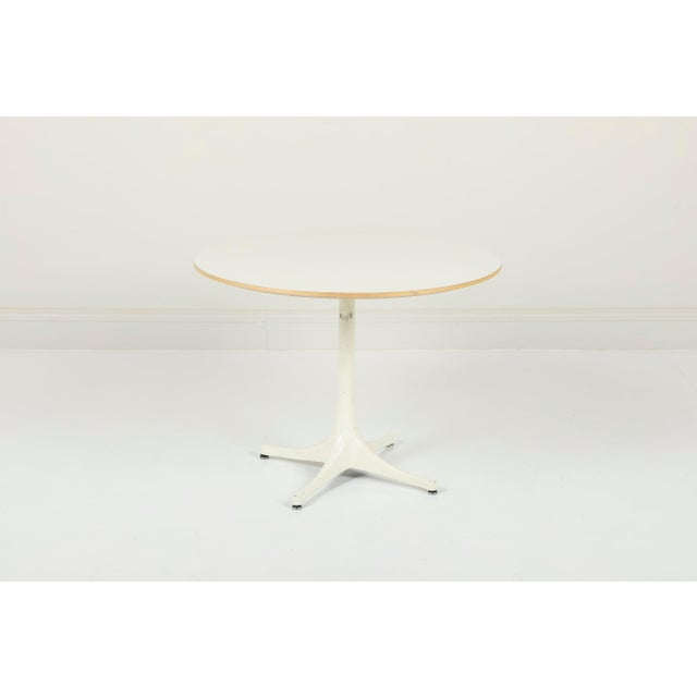 Mid-Century Modern George Nelson Herman Miller Pedestal Side Table For Sale - Image 3 of 10