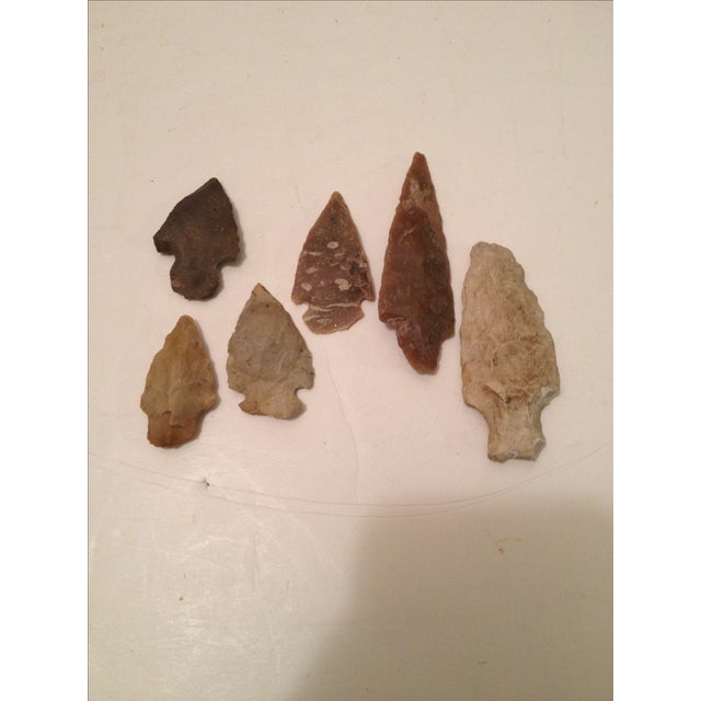 East Texas Arrowheads - Set of 6 - Image 2 of 4