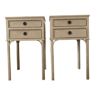 Gustavian Chelsea Textiles End Tables - a Pair For Sale