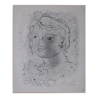 Vintage Mid 20th C. Modern Lithograph-Georges Braque For Sale