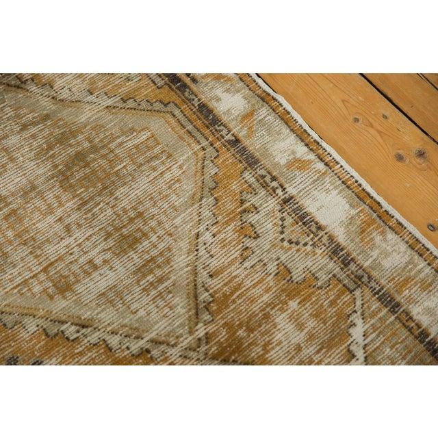 "1960s Vintage Distressed Oushak Rug Runner - 2'7"" X 5'3"" For Sale - Image 5 of 9"
