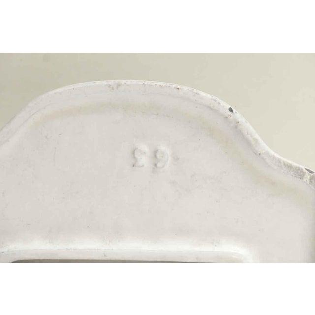 Vintage White Toilet Paper Holder For Sale - Image 5 of 7