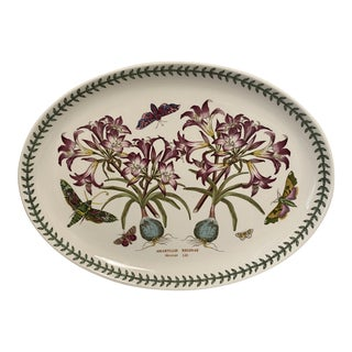 Vintage Large Portmeirion. Botanic Garden Platter For Sale