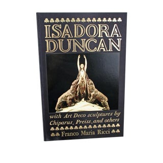 Art Deco Collectors Book Limited Edition Book, Isadora Duncan For Sale