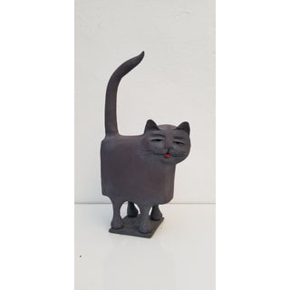 70s Studio Pottery Cat Sculpture Preview