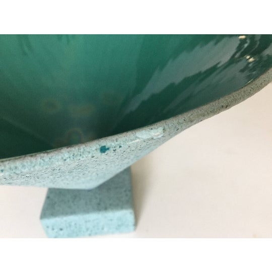 Memphis Style Signed Porcelain Bowl - Image 5 of 6