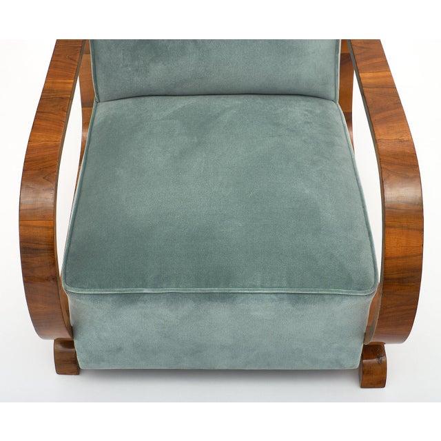Art Deco Austrian Armchairs For Sale - Image 9 of 11