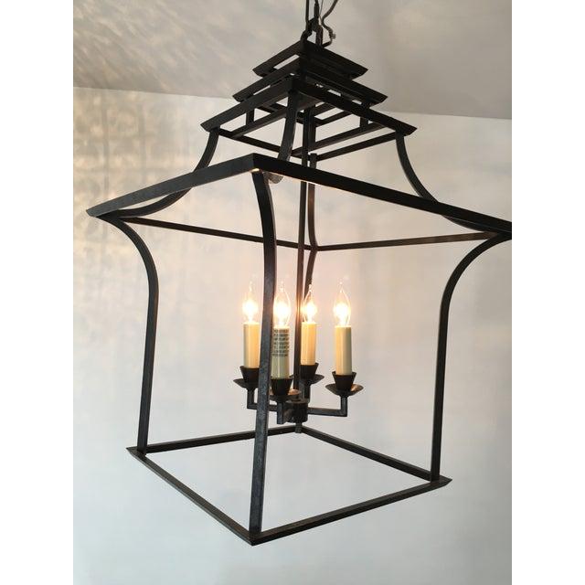 E.F. Chapman for Visual Comfort Brighton Pagoda Lantern Pendant - Image 2 of 8