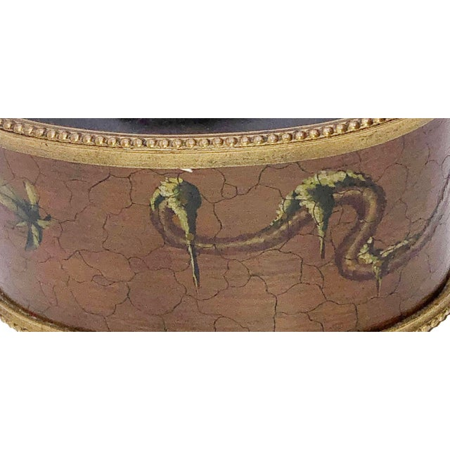 Antique French Chinoiserie Ink Well For Sale In Dallas - Image 6 of 10