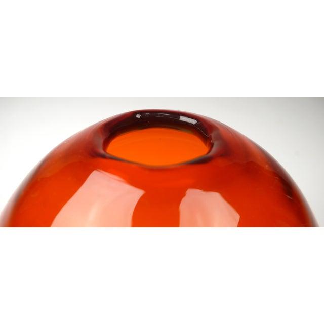 Blenko Bud Vase For Sale - Image 5 of 5