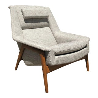 Mid Century Dux Lounge Chair by Folke Ohlsson For Sale