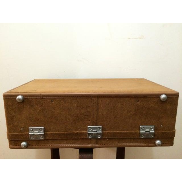 Vintage Hartmann Suede Luggage Set - Image 8 of 11