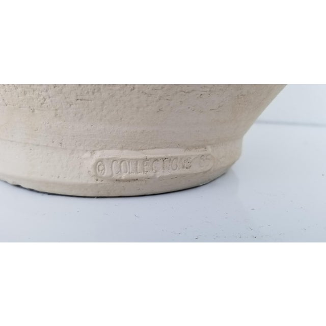 Mid-Century Modern 1980s Overscaled Artistic Studio Pottery For Sale - Image 3 of 12